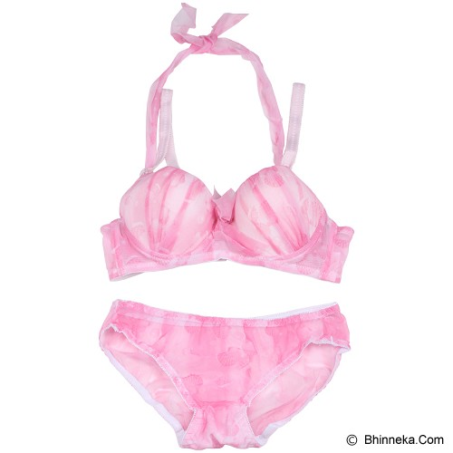 YOU'VE Melantha Bra Set Size 36 [2092] - Pink - Bra Set